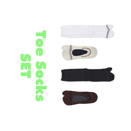Toe Socks SET [35% SALE]